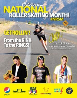 2015 National Roller Skating Month Poster